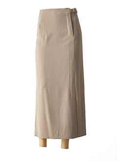 Jupe longue vert GAROU PARIS pour femme