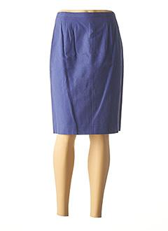 Jupe mi-longue bleu ALIZE pour femme