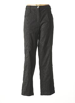 Pantalon casual noir BE THE QUEEN pour femme