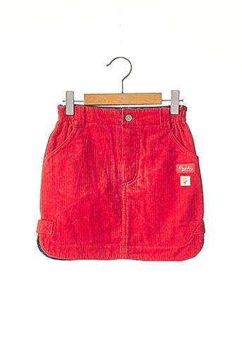 Jupe mi-longue rouge CREEKS pour fille