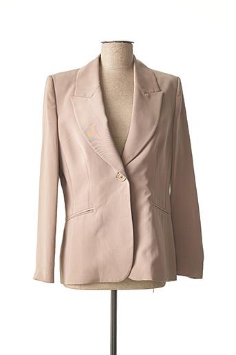 Veste chic / Blazer beige SERENA KAY pour femme