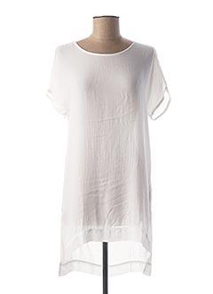 Tunique manches courtes blanc LOLITAS & LOLOS pour femme