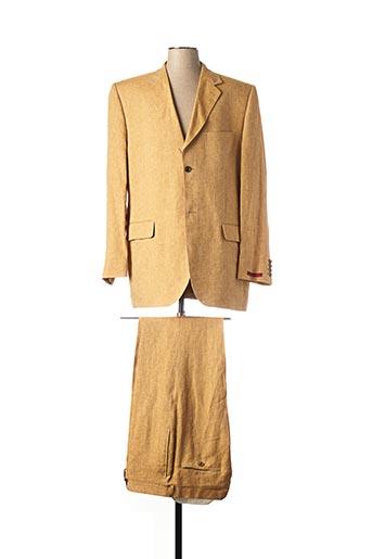 Costume de ville beige PIERRE CARDIN pour homme