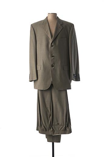 Costume de ville vert PANCALDI & B pour homme