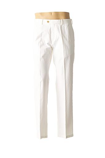Pantalon casual blanc BUGATTI pour homme