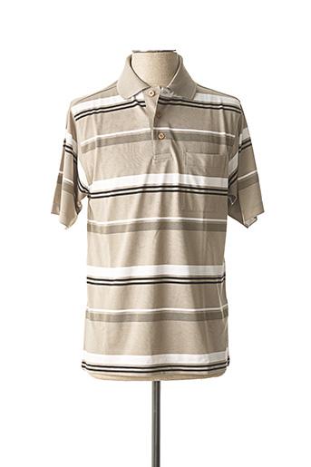 Polo manches courtes vert BELLONI pour homme