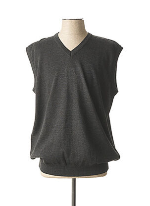 Pull col V gris MASELLI pour homme