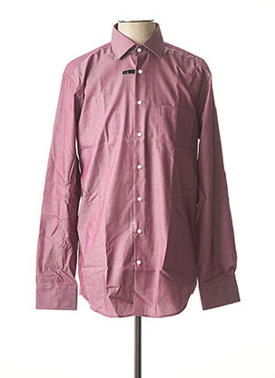 Chemise manches longues violet SEIDEN STICKER pour homme