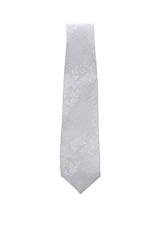 Cravate gris ACCESS'M pour homme