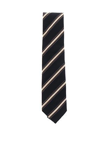 Cravate noir COULEURS DU SUD pour homme