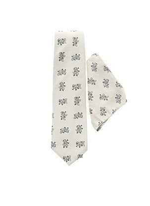 Cravate beige GUY LAURENT pour homme