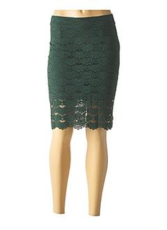 Jupe mi-longue vert VILA pour femme