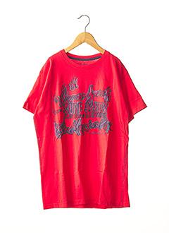 T-shirt manches courtes rouge TIFFOSI pour garçon
