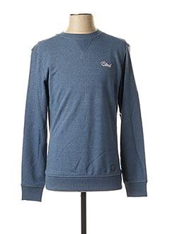 Sweat-shirt bleu BLEND pour homme
