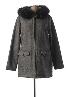 Manteau court noir C'EST BEAU LA VIE pour femme