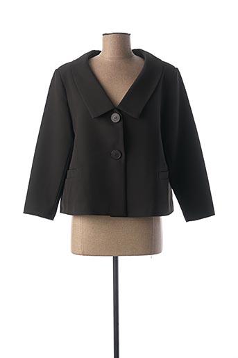 Veste chic / Blazer noir HIPPOCAMPE pour femme