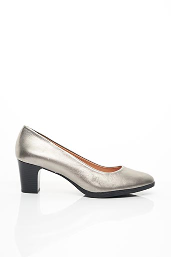 Escarpins gris ENZA pour femme