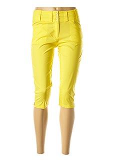 Corsaire jaune AVENTURES DES TOILES pour femme