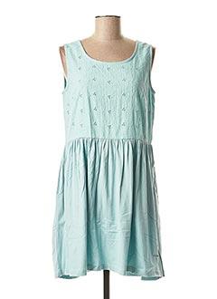 Robe courte vert AGATHE & LOUISE pour femme