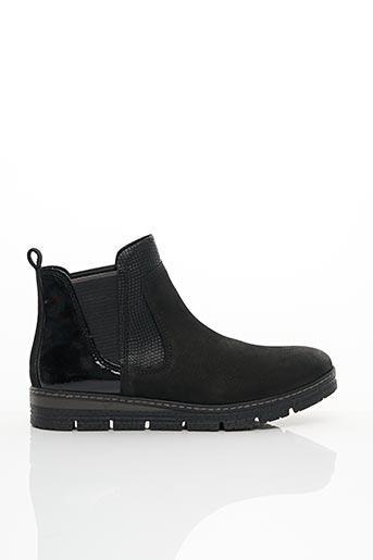 Bottines/Boots noir MARCO TOZZI pour femme