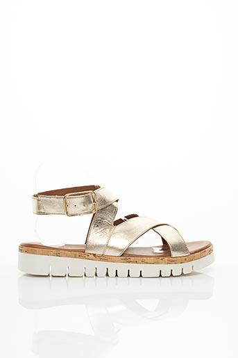 Sandales/Nu pieds jaune INUOVO pour femme