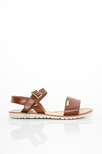 Sandales/Nu pieds marron LES TROPEZIENNES PAR M.BELARBI pour femme