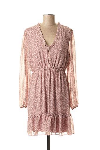 Robe courte violet GOLDEN LIVE pour femme