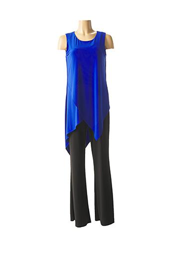 Combi-pantalon bleu JOSEPH RIBKOFF pour femme