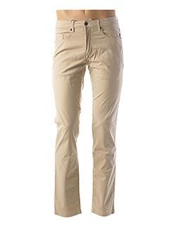 Pantalon casual beige CAMBRIDGE pour femme