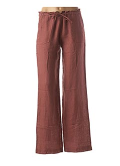 Pantalon casual orange LA FEE MARABOUTEE pour femme