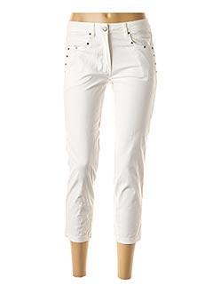 Pantalon 7/8 blanc MADO ET LES AUTRES pour femme