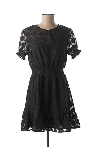 Robe courte noir BY CLARA pour femme