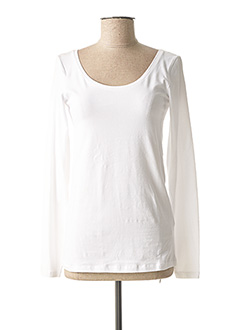 T-shirt manches longues blanc TIFFOSI pour femme