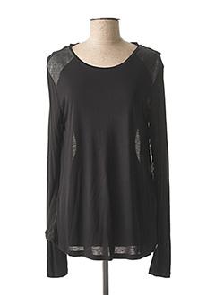 T-shirt manches longues noir TIFFOSI pour femme