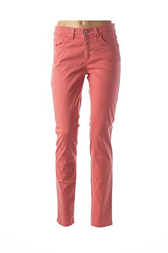 Jeans skinny rouge PIERRE CARDIN pour femme