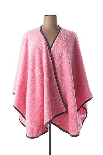Robe de chambre rose REBELLE pour femme