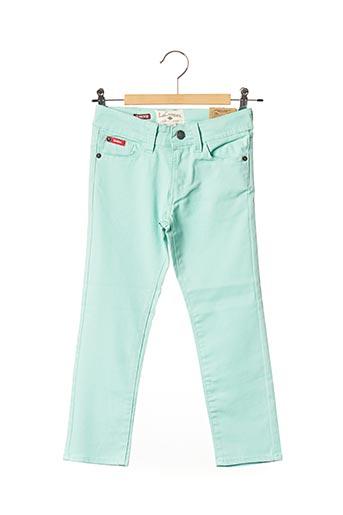 Jeans coupe droite vert LEE COOPER pour enfant