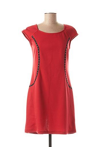 Robe courte rouge COSTURA 40 pour femme