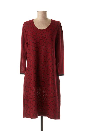 Robe pull rouge GRIFFON pour femme