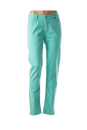 Pantalon casual bleu VOTRE NOM pour femme