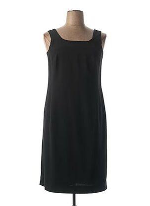 Robe mi-longue noir CAROLINE ROHMER pour femme