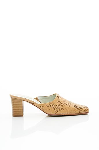 Mules/Sabots beige SWEET pour femme