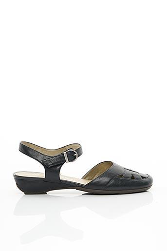Sandales/Nu pieds noir MADISON pour femme