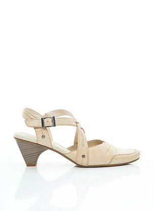 Sandales/Nu pieds beige SWEET pour femme