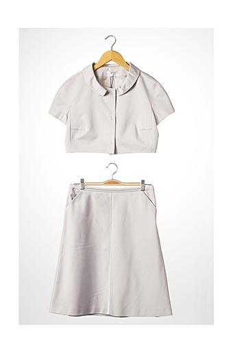 Veste/jupe beige PAULE KA pour femme
