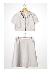 Veste/jupe beige PAULE KA pour femme seconde vue