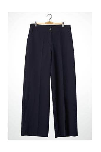 Pantalon chic bleu BLACK ROSE BY ACCENTO pour femme