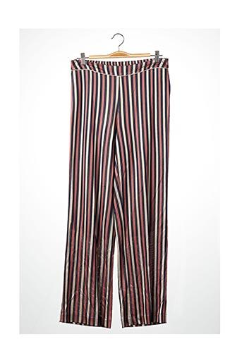 Pantalon chic rose FRED & GINGER pour femme