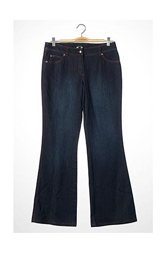 Pantalon casual bleu ESCADA pour femme