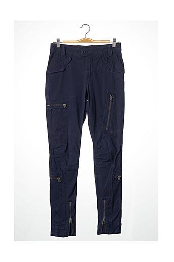 Pantalon casual bleu RALPH LAUREN pour femme